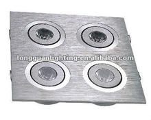 High Power 4x1W Square LED Ceiling Light/Downlight/Spotlight