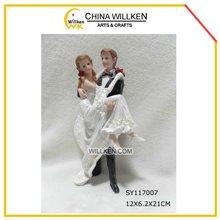 Handmade bride and groom wedding souvenir decoration for 2012