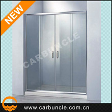 Bathroom shower screen with sliding shower door parts JA646