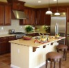 joint invisible acrylic solid surface island kitchen counter top