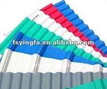PVC Foamed Composite Corrugated Tile Roofing