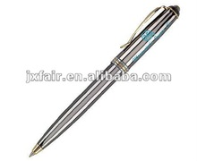 metal gold fountain pen