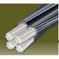 Low Voltage Aerial Bundled cable with Aluminum conductor XLPE insulation
