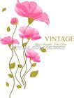 XC1701 Beautiful flower wall stickers