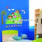 AY607 animaland kids wall stickers