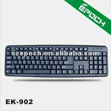 2014 Cheapest USB or PS2 Wired Computer Standard Keyboard