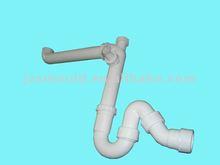 2012 custom produced PP plastic elbow pipe