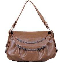2012 fashion drape ladies PU handbag