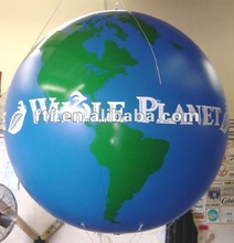 Hot Promotional Giant Inflatable Earth/Globe Balloon