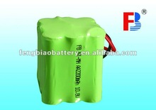 rechargeable batteries Ni-MH AA 2200mAh 10.8V battery pack industrial batteries