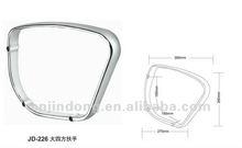 office chair accessory part die cast aluminum handle armrest chair armrest chair handle