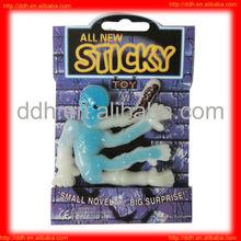 Plastic Sticker Skeleton toy for Halloween gift
