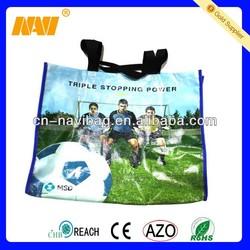 can make any printing logo colorful non woven shopping bag(NV-068)