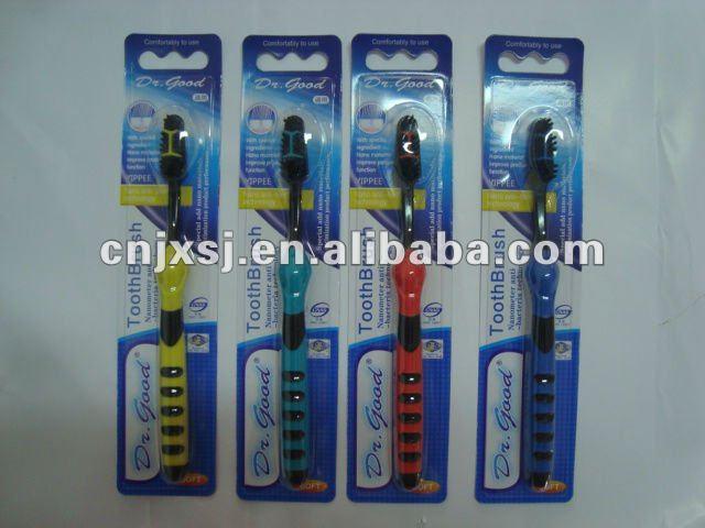 Charbon de brosse à dents / nouveaux produits pour 2012 / dentaire brosse à dents