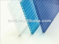 greenhouse material sun shade panel polycarbonate hollow sheet roofing