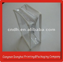 Promotional Pvc Zipper bag for Cosmetic