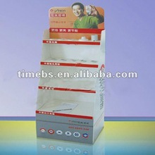 4Color printing corrugated plastic advertising stand