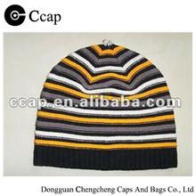 2015 Wholesale knitting beanie cap for children