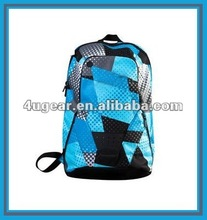 Sports travel bag laptop backpack overall print