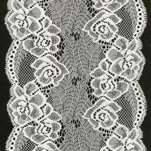 jacquard elastic flower lace pattern