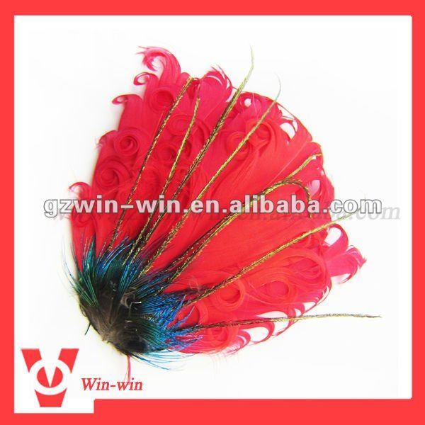 infant feather headband