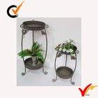 rustic shabby chic round wedding metal iron flower stand