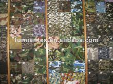 Twill Camouflage Print fabric