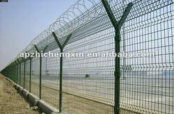 PVC coated folding metal dog fence(shangmai factory )