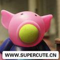 Divertido juguete del PVC alcancía poppers