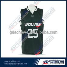 sublimation basketball uniform/wear