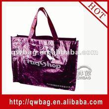 2014 photo printed non woven lamination shopping bag