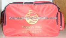 promotional red duffle bag luggage bag