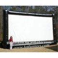 projection gonflable écran de cinéma en plein air