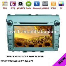 2 DINS iwish car audio for mazda 8