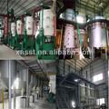 Ensemble complet 10-500tpd d'huiles végétales et de graisses de ligne de fabrication( pretreatment+ extraction + raffinage)