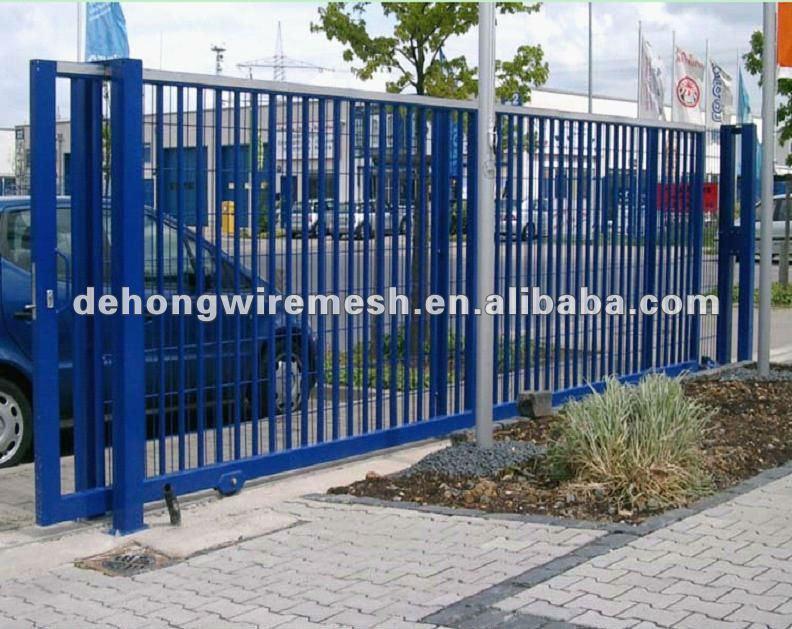 Track outdoor sliding gate with motor buy sliding gate manual slide