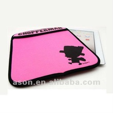 Promotional Red Cute Case for iPad with Design Logo