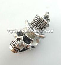 2012 Hot Sale Pendant ,Stainless Steel Hip Hop Jewelry , Skull Pendant ( KCYX1359)
