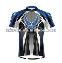 Sublimated Cycling Jersey bike shirt short sleeve