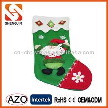 Popular fleece perfect christmas stocking/Xmas socks