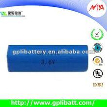 ER17505 3200mAh 3.6 volt battery manufacturer A size