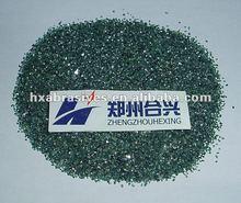 Green silicon carbide include petroleum coke