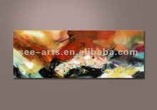 wholesale handmade led wall art/ stretched canvas