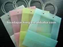 2012 transparent PVC gift bag