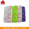 silicone mobile phone protection shell for iphone 4