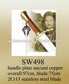 Sw498 fantasy espadas e armas