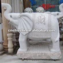 2012 nice carving stone elephant