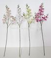 borboleta de seda da flor da orquídea casamento flor artificial decorativa