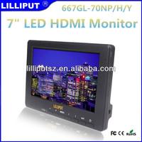 "7"" LCD Field Monitor For digital video camera"