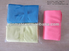microfiber towel with elastic holding band